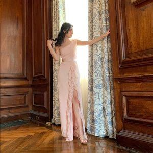Vera Wang White Bridesmaid dress